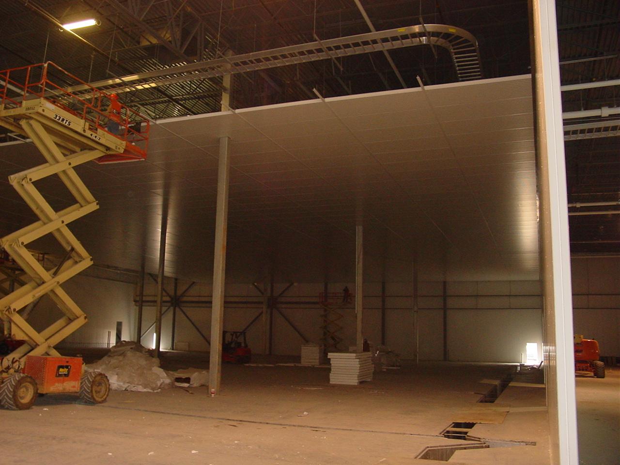 Metal Panel Ceiling